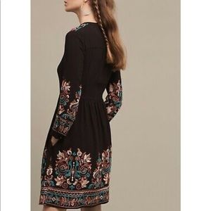 Anthropologie Dresses - Anthropologie Floreat Avery Embroidered Dress Boho